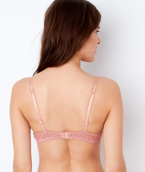 Lace and satin magic up® bra