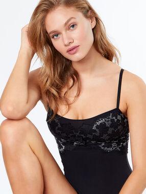 Micro bodysuit black.