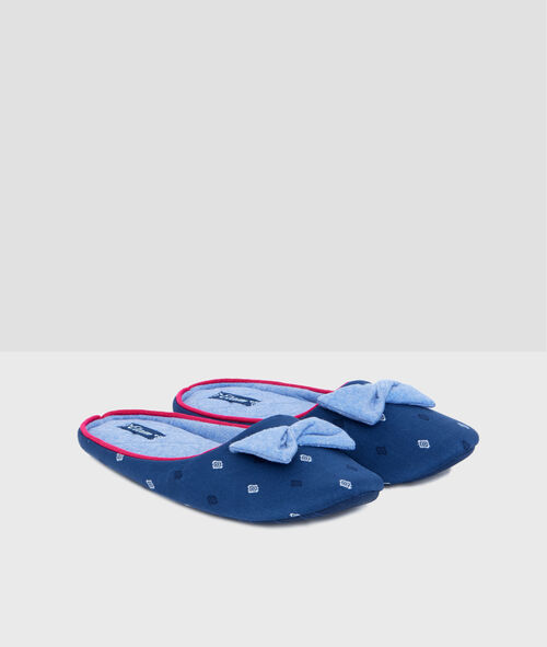 Little bow slippers