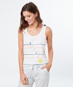 Pyjama oberteile ecru.