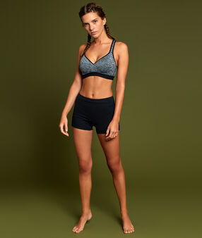 Sport bra, maximum support grey.