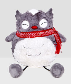 Owl pyjama rack grey.