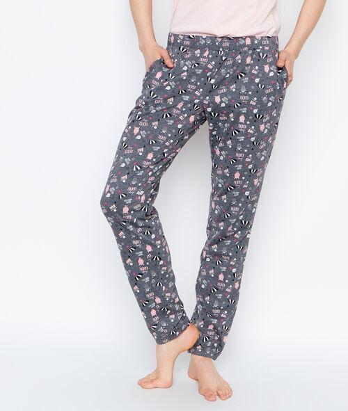 Printed trouser