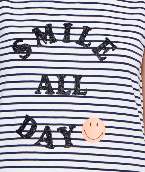 Printed Smiley nightdress