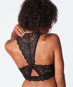 Bralette black.