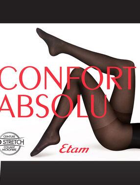 Semi-opaque tights 30d black.