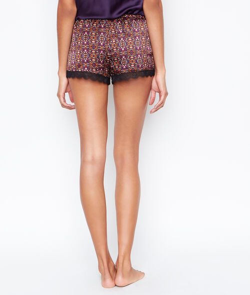 Satine printed pyjama shorts