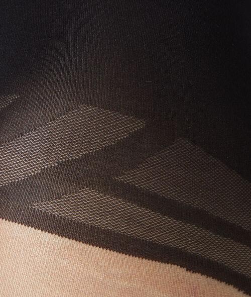 sheer satiny tights