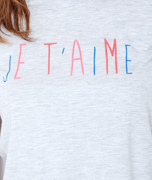 Printed pyjama tank top
