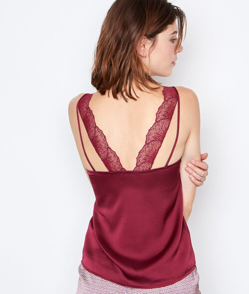 Satine lace top