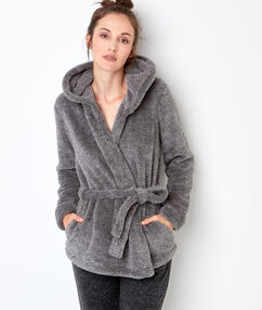 Homewear jacket grey.