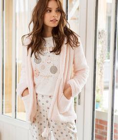 Pyjama 3 teilig rosa.