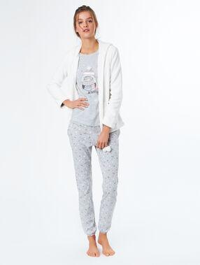 3 pieces pyjama ecru.