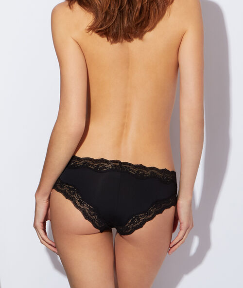 Micro and lace shorty