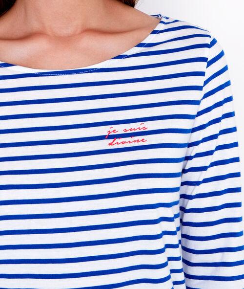 """Je suis divine"" langarmelige pyjama oberteile"