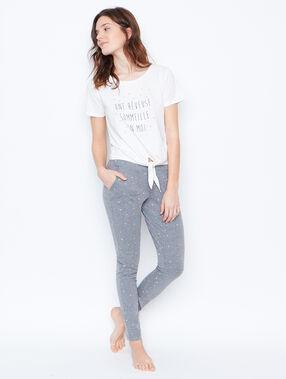 Pyjama top white.