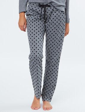 Pyjamahosen grey.