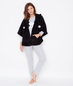 3 pieces pyjama black.