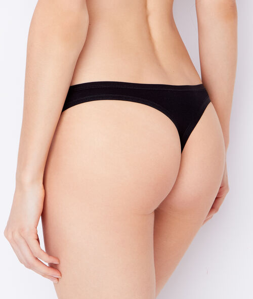 Pack of 3 coton thongs