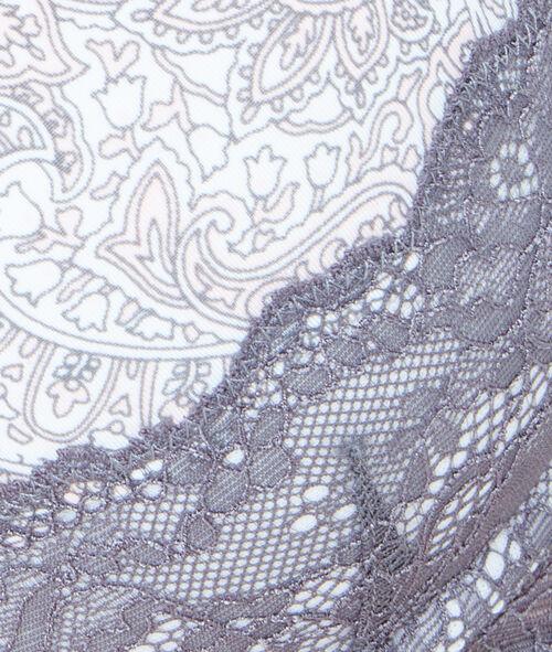 Printed micro magic up® bra