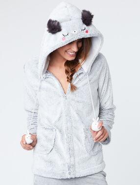 Koala pyjama jacket grey.