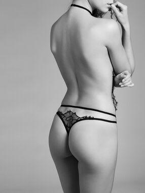 Body aus spitze schwarz.