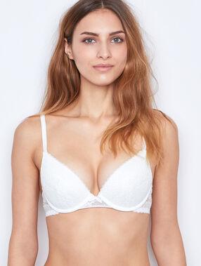 Push-up-bra white.