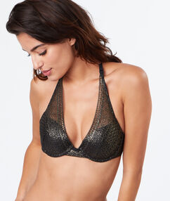 Push-up-bra gold.