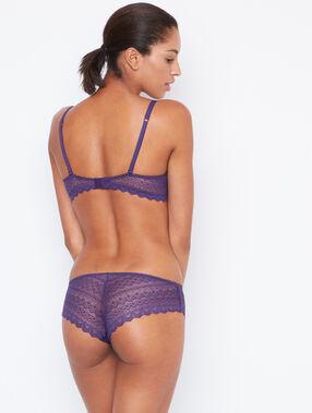 Lace shorts purple.