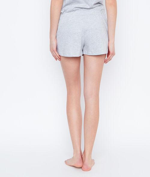 Smiley printed pyjama short