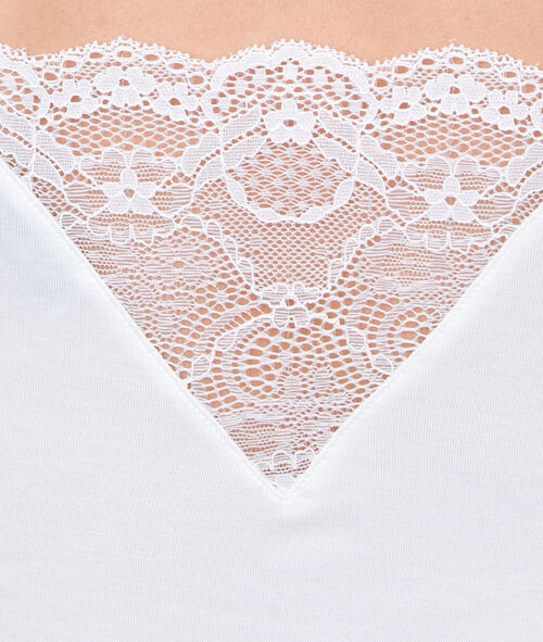 VISCOSE LACE TOP