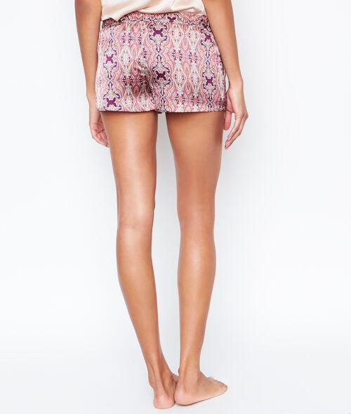 Satine printed pyjama shorts