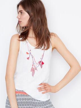 Pyjama oberteile white.