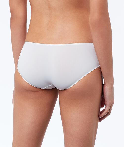 Micro shorts, thermal bound trim