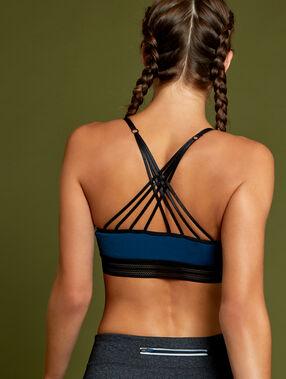 Sports bra blue.