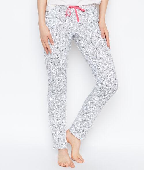 Printed pyjama pants
