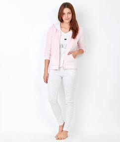 3 pieces pyjama pink.
