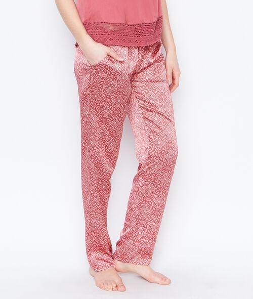 Satine printed pyjama pants