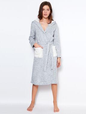 Fleece negligee grey.