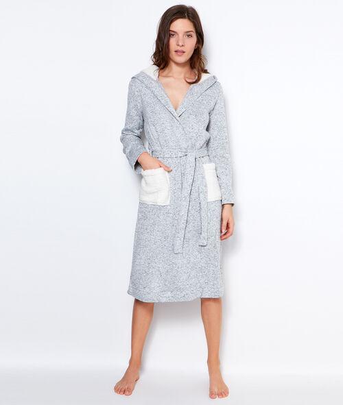 Fleece negligee
