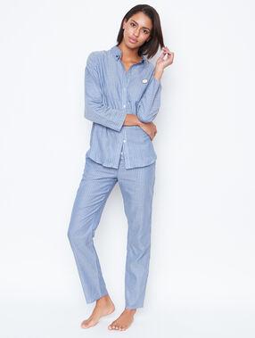 Pyjama oberteile blue.