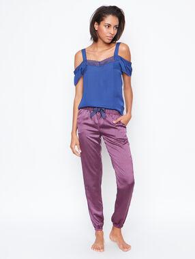 Satine printed pyjama pants pink.