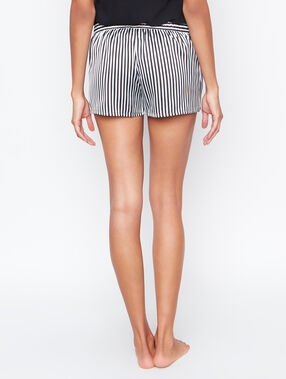 Satine pyjama shorts black.