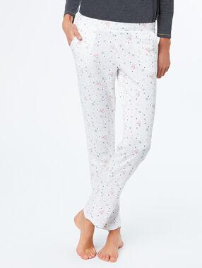 Pyjamapants weiß.