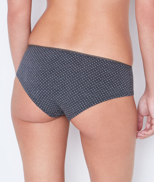 Polka dot cotton shorty