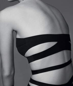 Body néoprène à lanières schwarz.