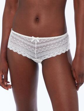Lace shorts white.
