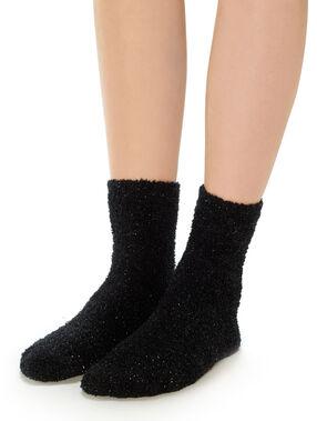 Socks black.