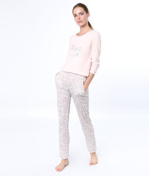 Message pyjama pants