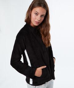 Pyjamas jacken schwarz.